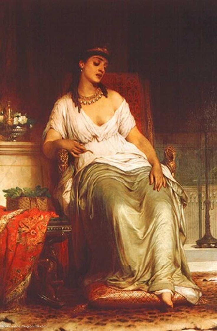 Cleopatra - Frank Dicksee