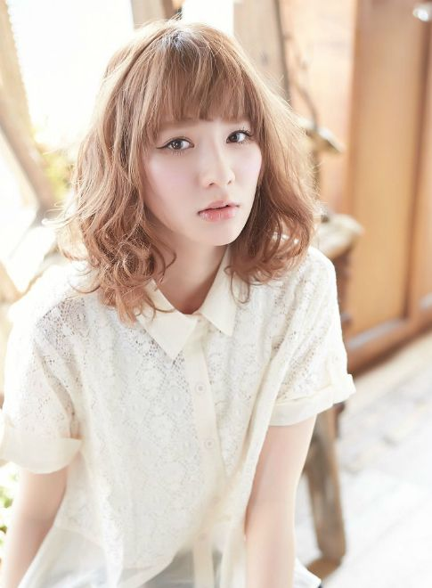 ふわっと大人ミディ 【linette 横浜】 http://beautynavi.woman.excite.co.jp/salon/27372?pint ≪ミディアム・ヘアスタイル・medium・hairstyle・髪形・髪型≫