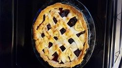 Simple Blackberry Pie filling