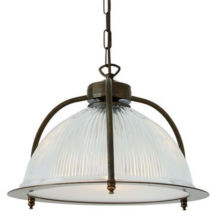 Show details for Bousta Holophane Pendant with Diffuser