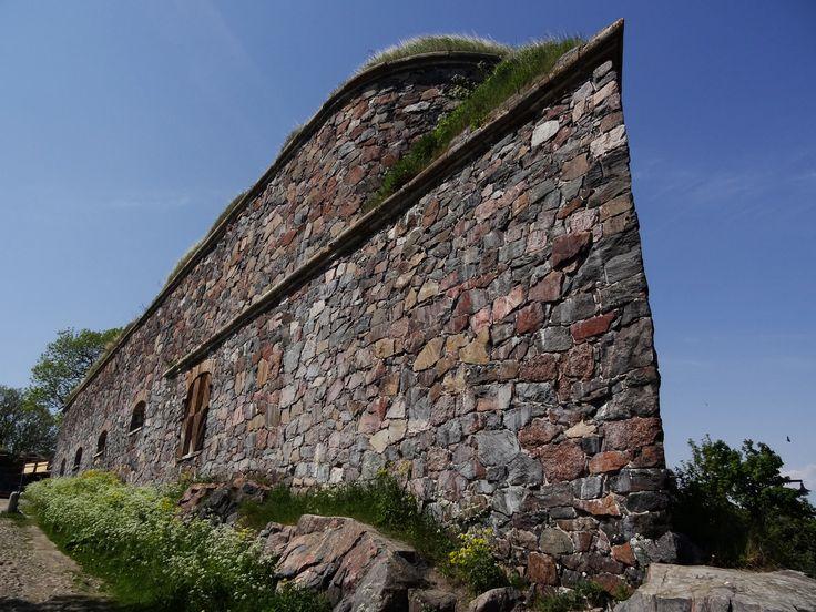 La fortezza di Suomenlinna a Helsinki in Finlandia: sito Patrimonio dell'Umanità dell'UNESCO