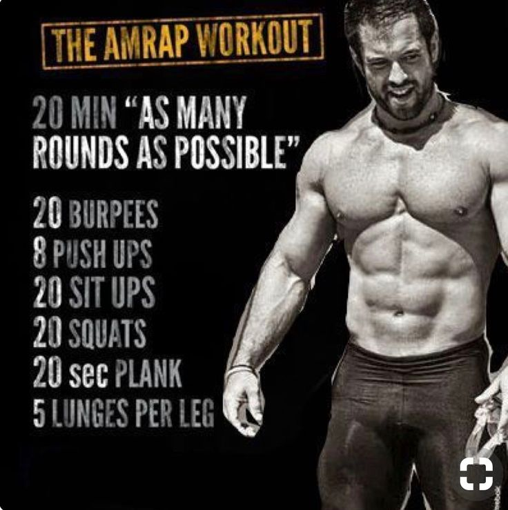 The AMRAP Workout  | Posted By: NewHowToLoseBellyFat.com