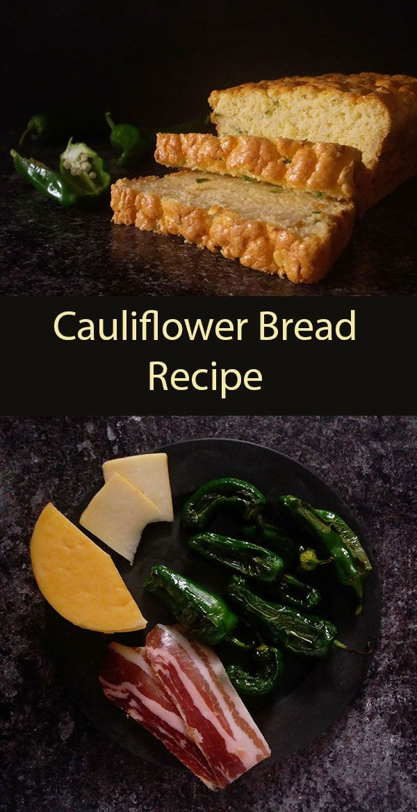 Cauliflower Bread Recipe Food Recipes Bread Recipes
