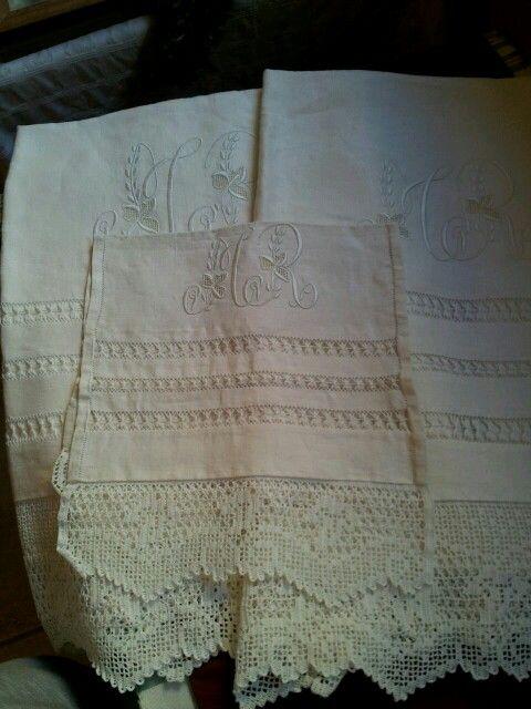 Juego completo de toallas de lino