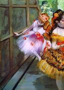 Ballet Dancers in Butterfly Costumes (detail)  by Edgar Degas
