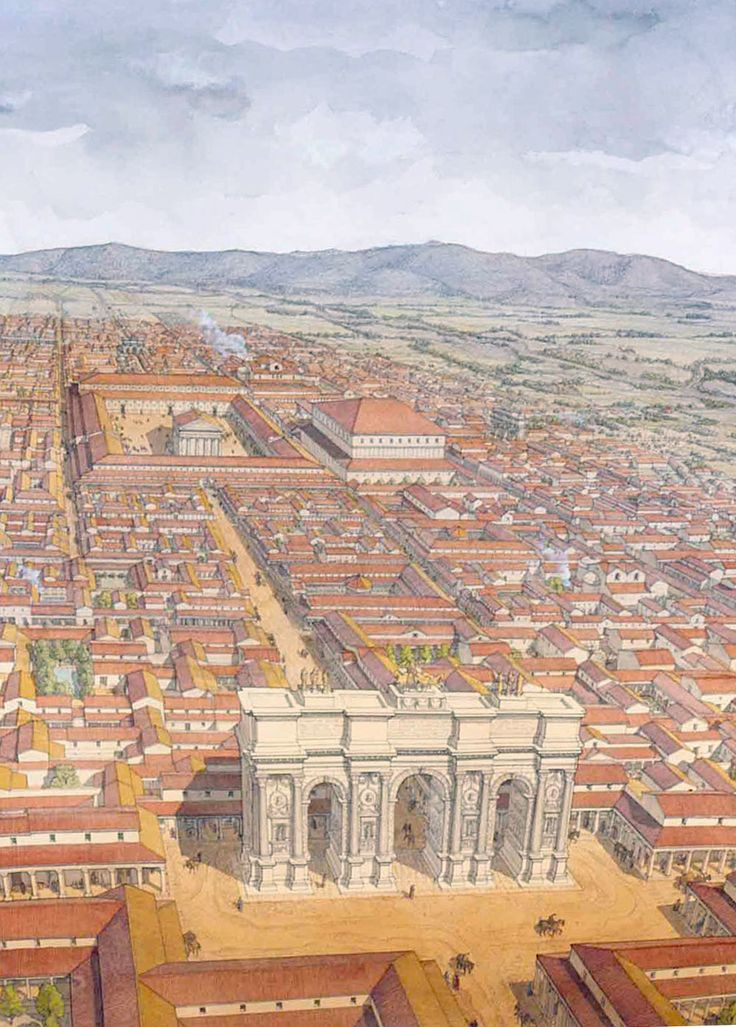 an introduction to the history of architecture in the ancient rome Here are the greatest ancient roman achievements in history  in fact, it is often believed that via sacra, the main street of ancient rome, had as much pedestrian.
