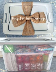 DIY  Hospital Care Package                                                                                                                                                                                 More