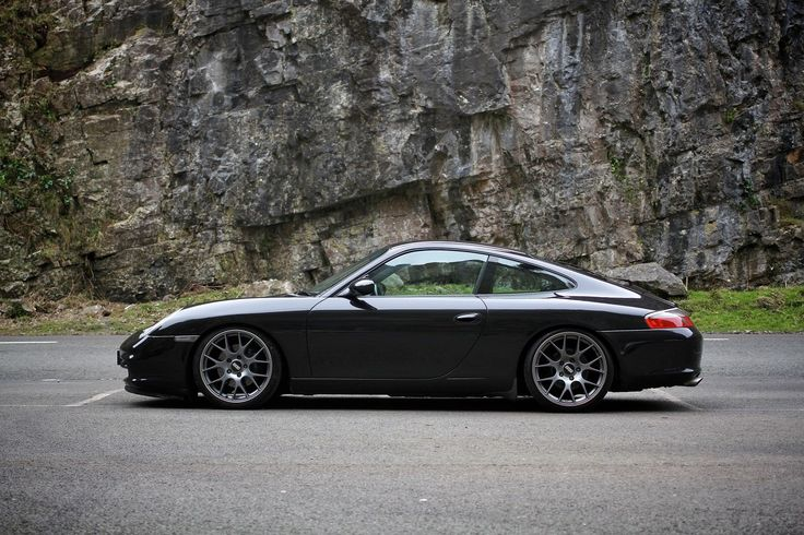 2003 PORSCHE 911 CARRERA 2 BLACK BBS WHEELS H&R COILOVERS | eBay