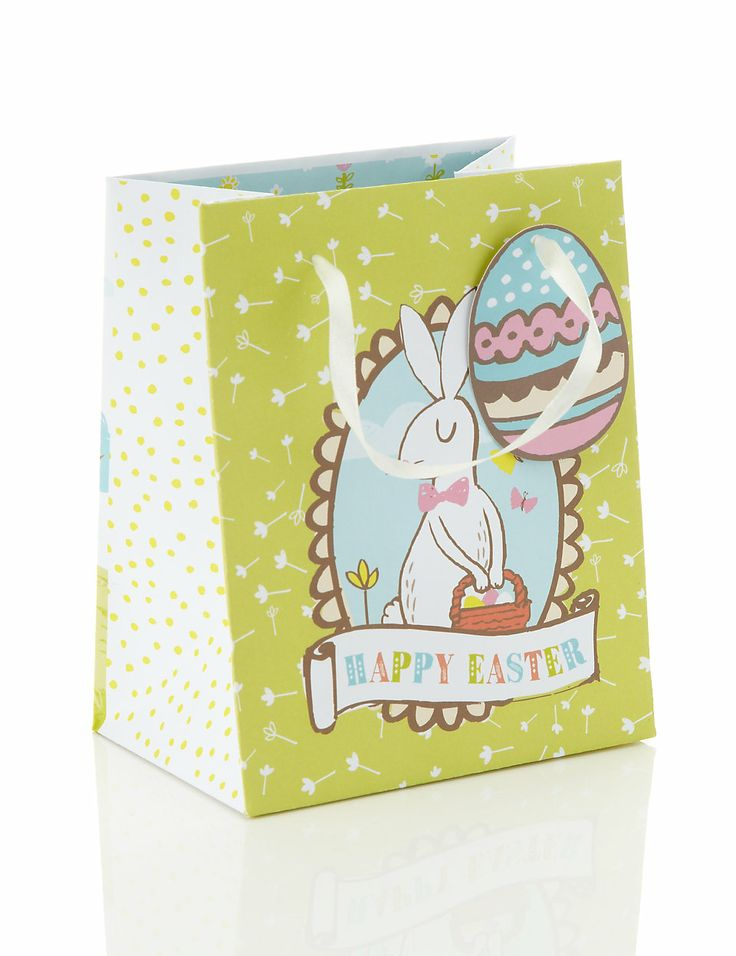463 best springtime holidays images on pinterest easter card small easter gift bag ms negle Gallery