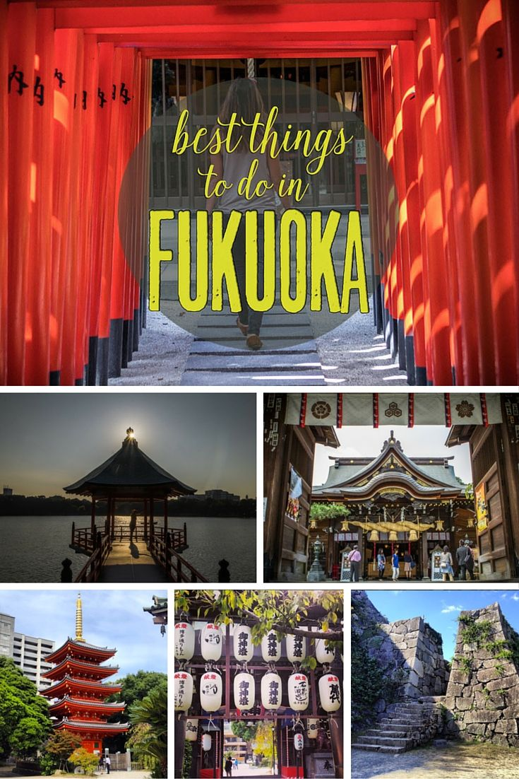 Find out the best things to see and do in Fukuoka, Japan!