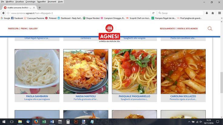 Concorso Agnesi-Farfalle gratinate al forno http://www.concorso.agnesi.it/?page_id=6167&usp_success=2&post_id=6381