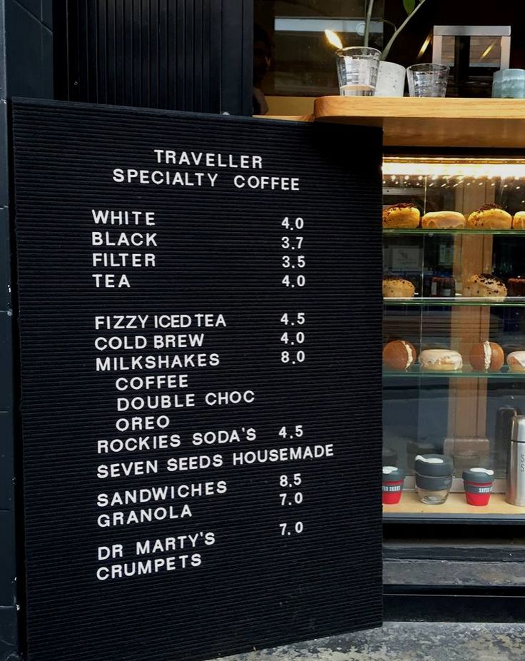 Image result for coffee menu board