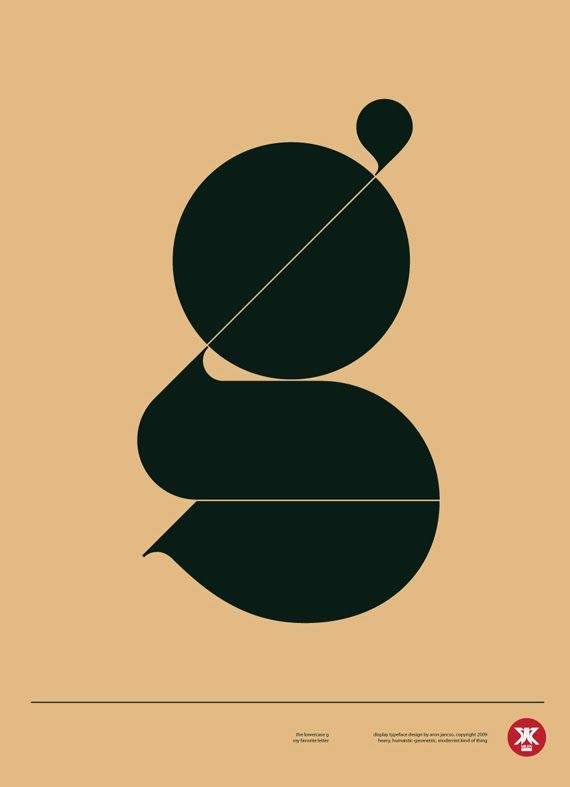 #Typography I just simply like the design of this g.very simplistic which is what I'm drawn to.