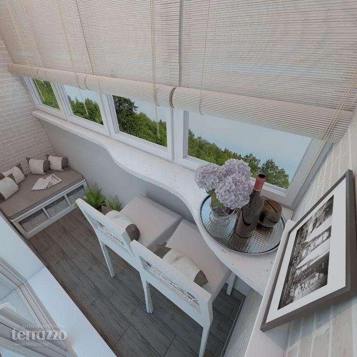Дизайн балкона, лоджии