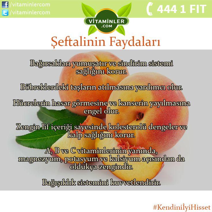 Şeftalinin Faydalarını Tüm Sevdiklerinizle Paylaşın #vitaminler #vitaminlercom…
