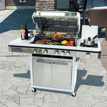 Grill Chef 6 Burner 66 500 Btu Natural Gas Grill Costco