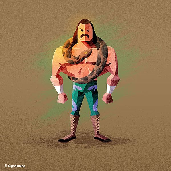 WWE Superstars by James White