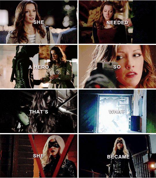 Laurel Lance is a true hero