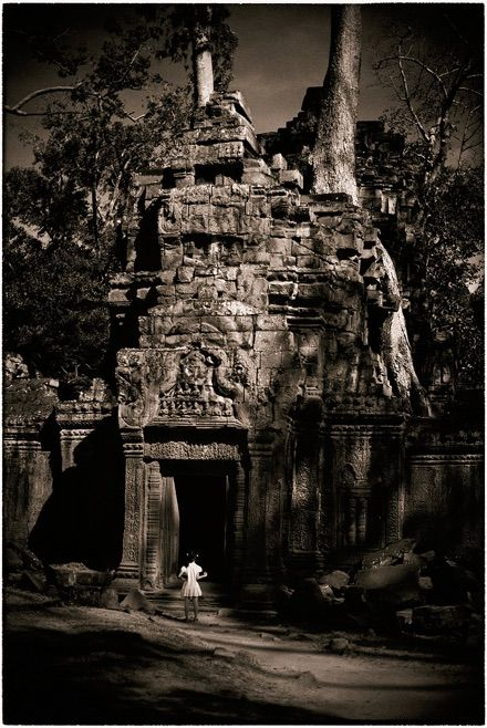You don't have to explain — Angkor, Cambodia.  © Cristian Kit Paul.