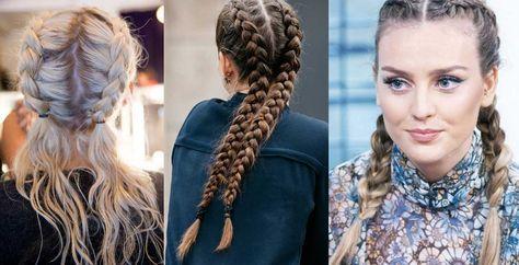 Boxer braids è una doppia treccia alla francese facile da realizzare, sia per chi ha i capelli lunghi, scalati o di media lunghezza, ecco il tutorial.