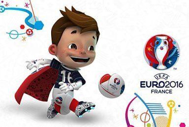 2016 European Championship Mascot
