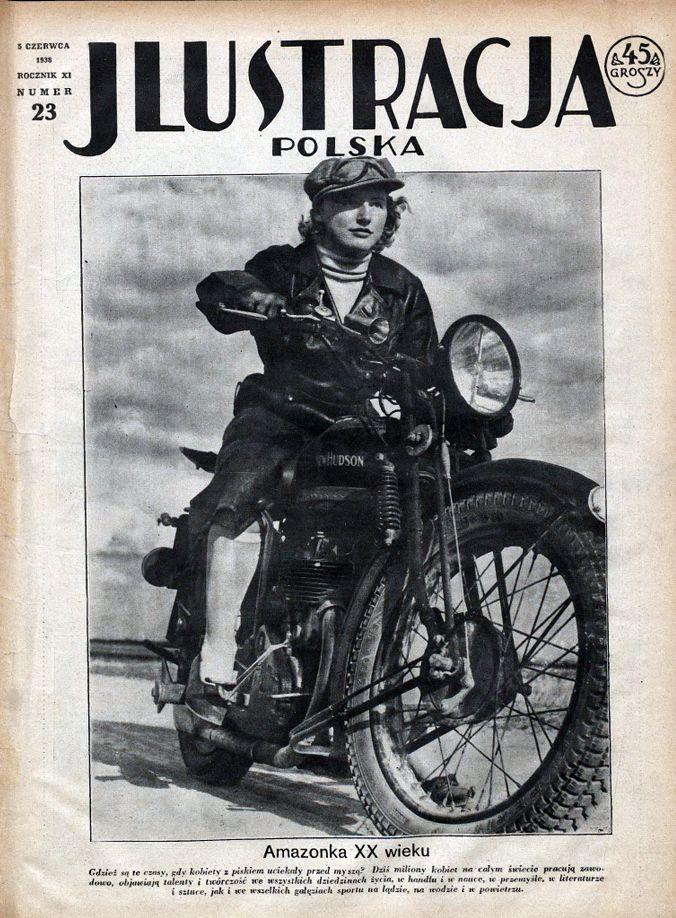 Dawne polskie motocyklistki: November 2016