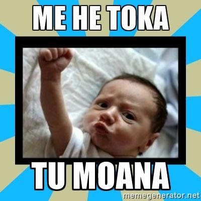 ME HE TOKA TŪ MOANA As staunch and strong as a rock. He kōrero whakataurite. He kōrero mō te tangata/wahine kaha.