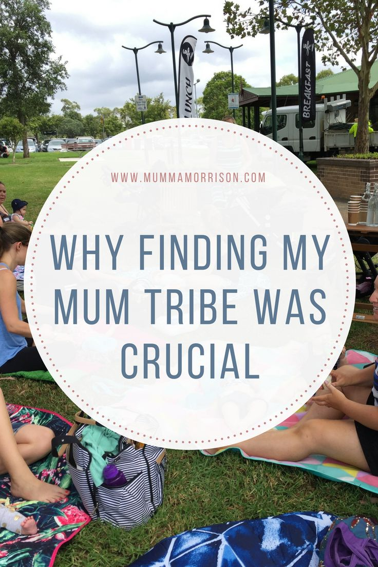 Why Finding my Mum Tribe was Crucial