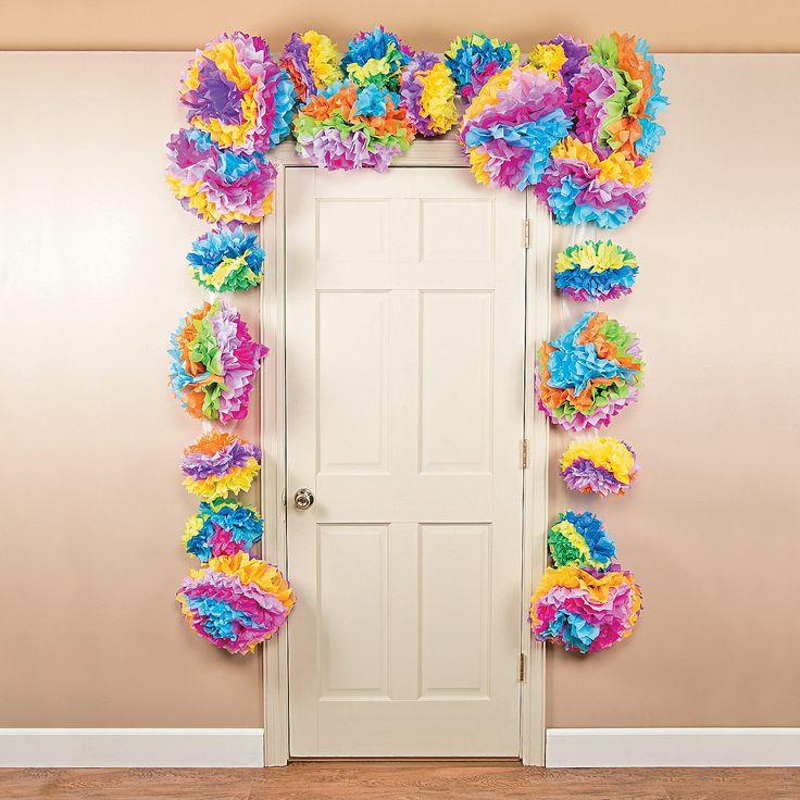Same as other site! Oriental trading $30. Flower Fiesta Tissue Door Border - OrientalTrading.com