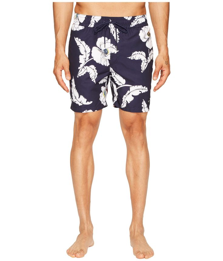JACK SPADE Poppy Flower Swim Trunks. #jackspade #cloth #