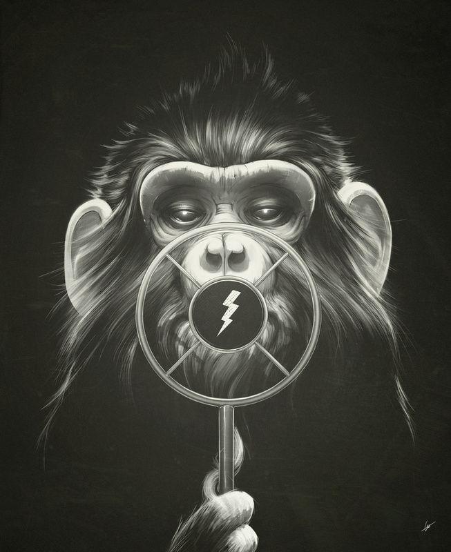 Une série d'illustrations par l'illustrateur tchèque Lukas Brezak.