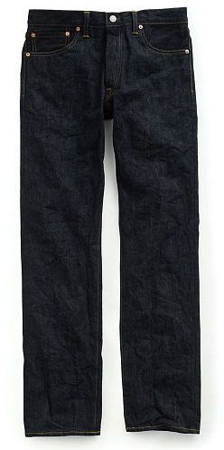 Ralph Lauren RRL Low Straight Once-Washed Jean