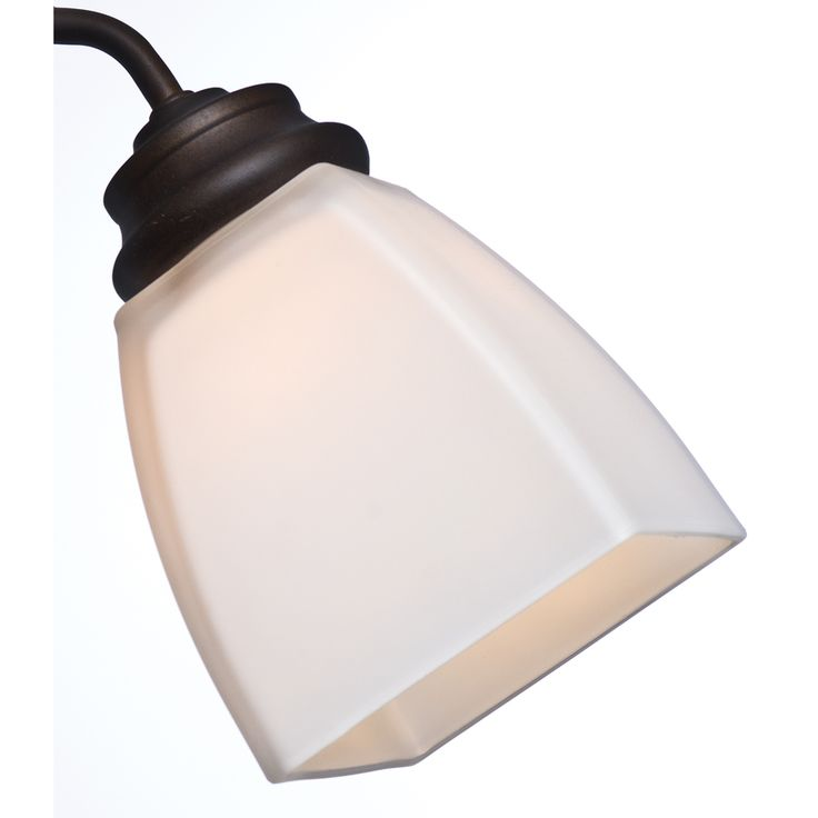 This would work if we bought 2 packs and replaced the light in the bathroom with a 3 light fixture like the one we're putting up outside the bathroom.   Casablanca 4.625-in H 4.625-in W Cased White Square Ceiling Fan Light Shade
