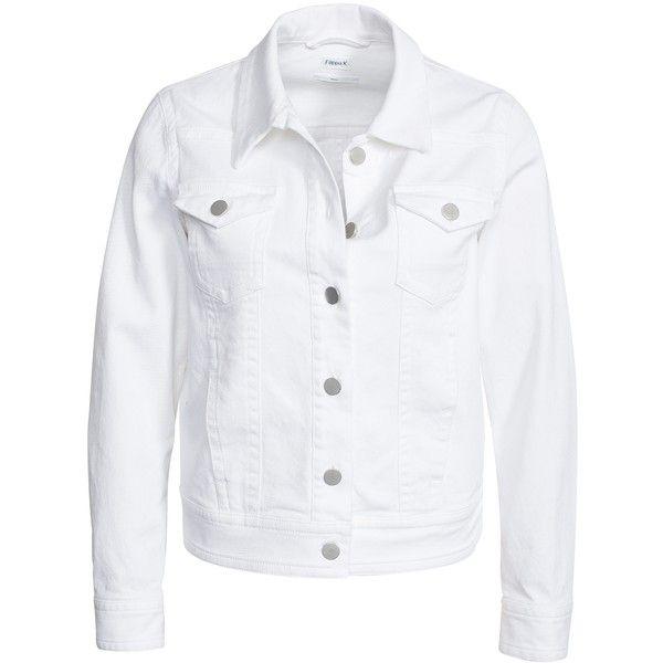 1000  ideas about White Jean Jackets on Pinterest | Jean jackets ...