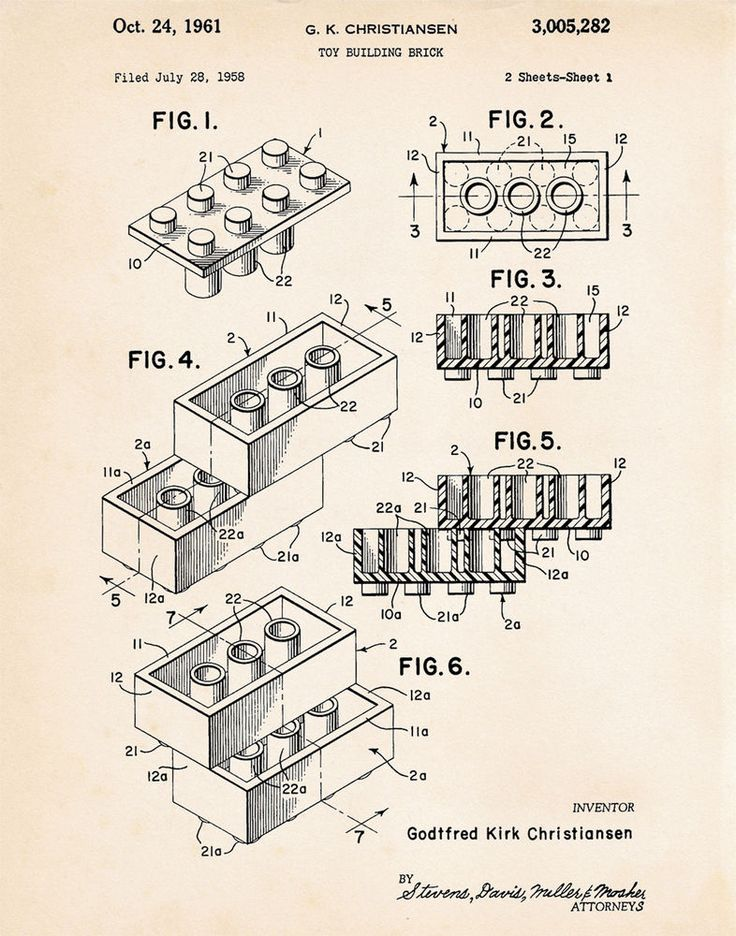 14 best Patent Art Prints of Toys images on Pinterest Art prints - best of blueprint detail crossword clue