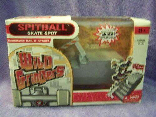 Wild Grinders Spitball Skate Spot Barricade Rail & Stairs by MALIBU. $26.95