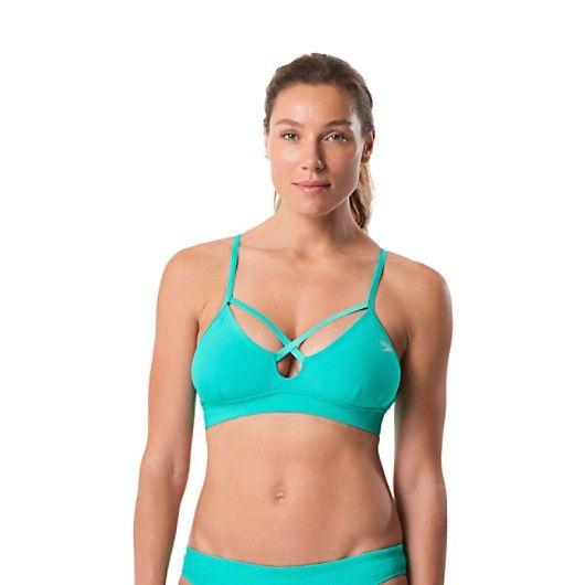 dfc0fff2fee65 Aqua Elite Strappy Bikini Top - Speedo Endurance Lite