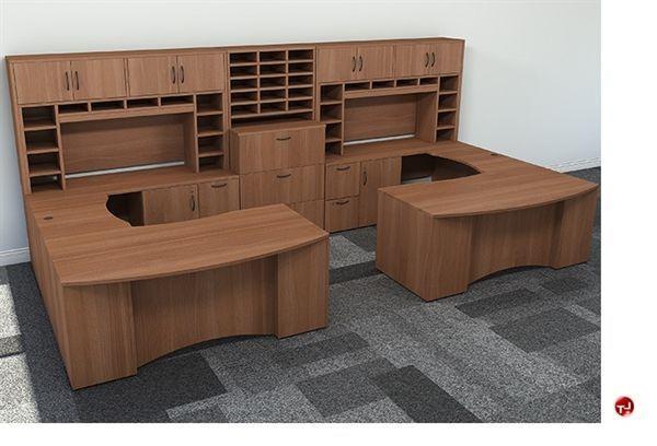 U Shaped Office Desk Google Search Desk Glassofficedeskideas Google Office Search U In 2020 U Shaped Office Desk Receptionist Desk Office Desk