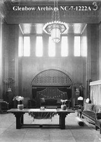 Image No: NC-7-1222A Title: Interior of Mormon temple, Cardston, Alberta. Date: [ca. 1930-1949] Photographer/Illustrator: Atterton Studio, Cardston, Alberta