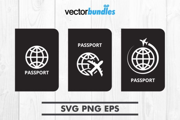 Passport Document Clip Art Graphic By Vectorbundles Creative Fabrica Graphic Quotes Clip Art Printing Software