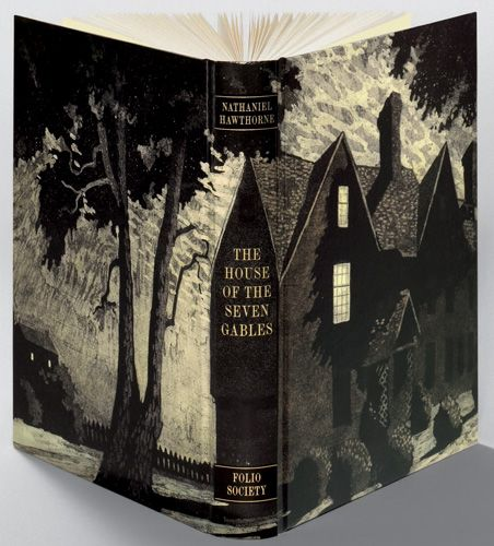 Francis Mosley's cover design for The House of the Seven Gables