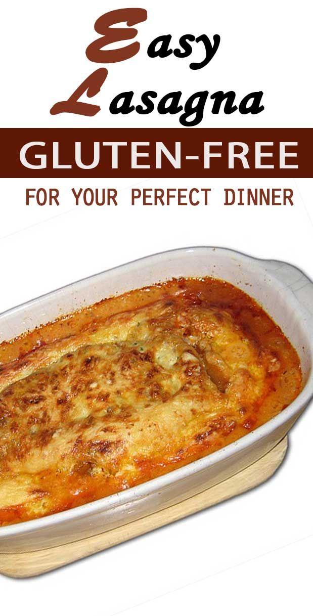 Easy Gluten Free Lasagna recipe for dinner