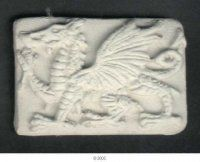 ACC Casts - Celtic Dragon Bead - Rectangle - $1.20AUD Each