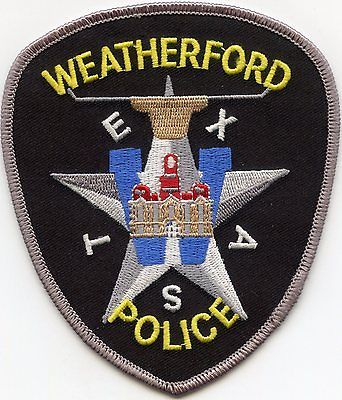Image result for weatherford police badge