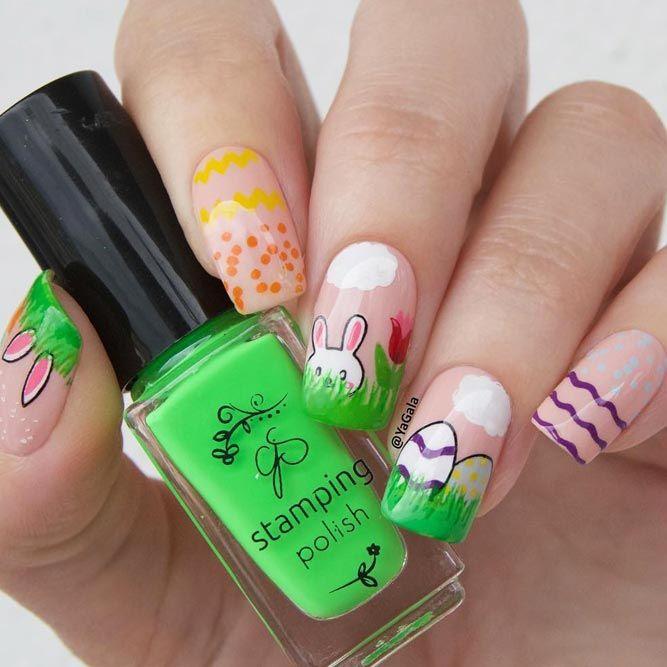 Mejores 5622 imágenes de Nails en Pinterest | Uñas acrílicas, Uñas ...