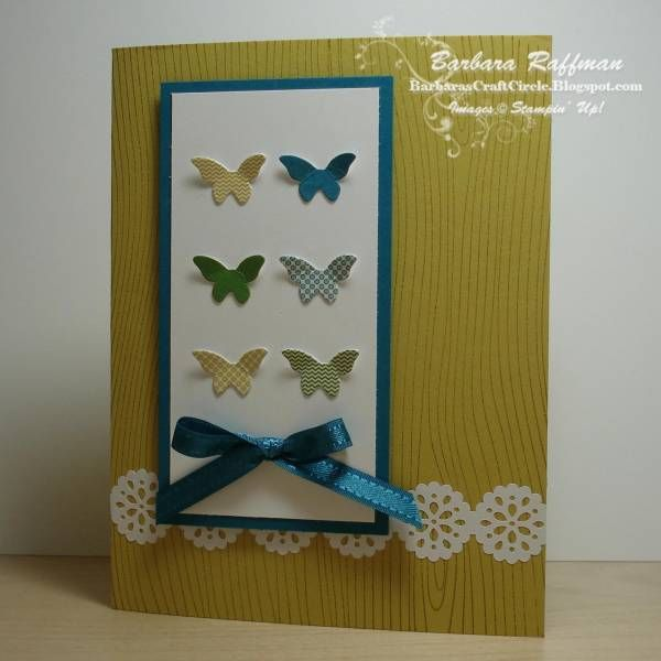 TRY IT KIT- This is an adorable card made with Paper Pumpkin leftovers from the Try It kit.
