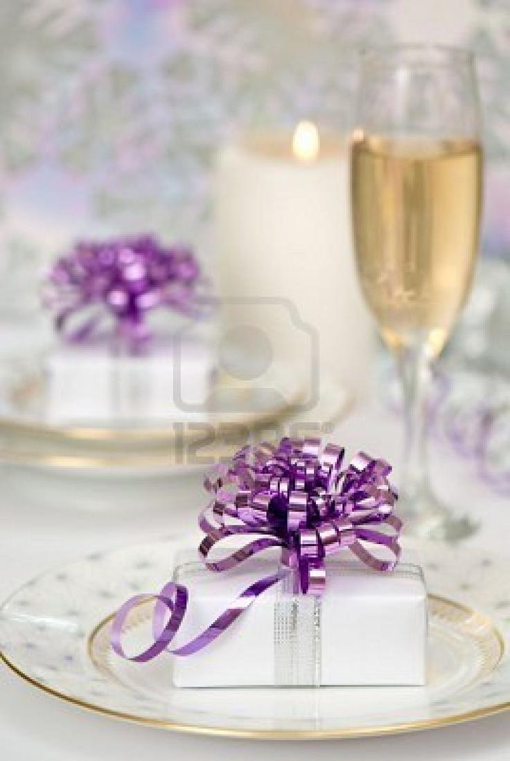 Superb Purple Christmas Table Decorations Part - 12: Pinterest