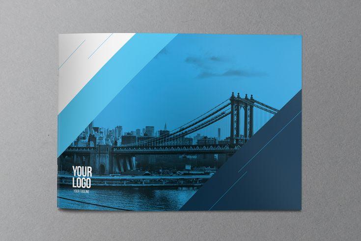 Echa un vistazo a este proyecto @Behance: u201cCool Blue Modern Brochureu201d ...
