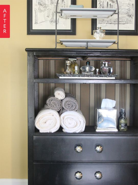 Before & After: A Broken Dresser to Modern Cabinet | Apartment Therapy