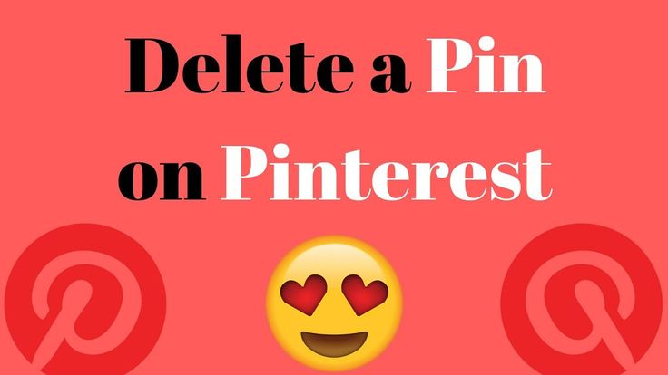 How to delete a pin on pinterest | Delete pin on pinterest | Best way to delete a pin on pinterest | https://youtu.be/8q4eNaVYlkU In this video I will show y...